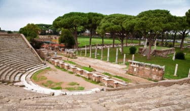 Ancient Ostia Archaeological Site