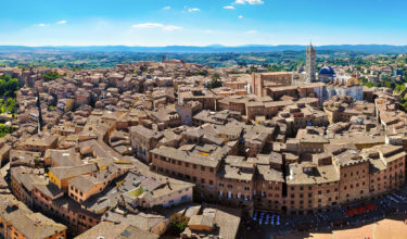 Siena Aereal View
